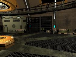 Сцена гаража в Unity