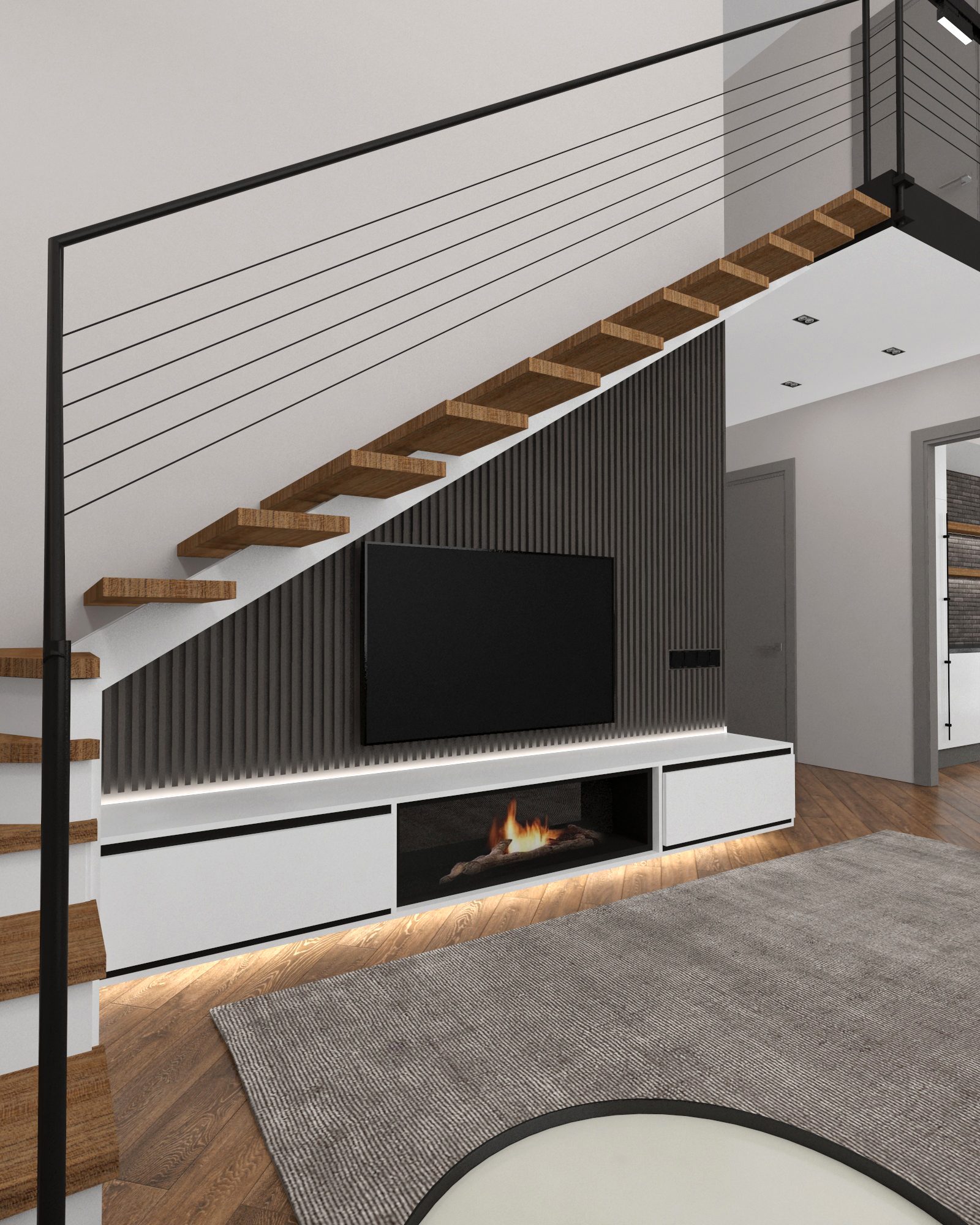 Eco house in 3d max vray 3.0 image