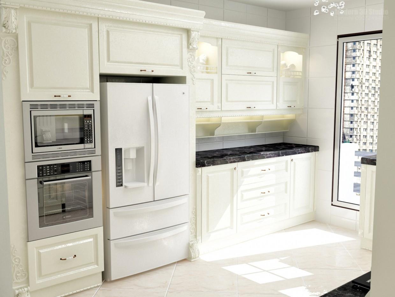 Кухня СС в 3d max vray зображення