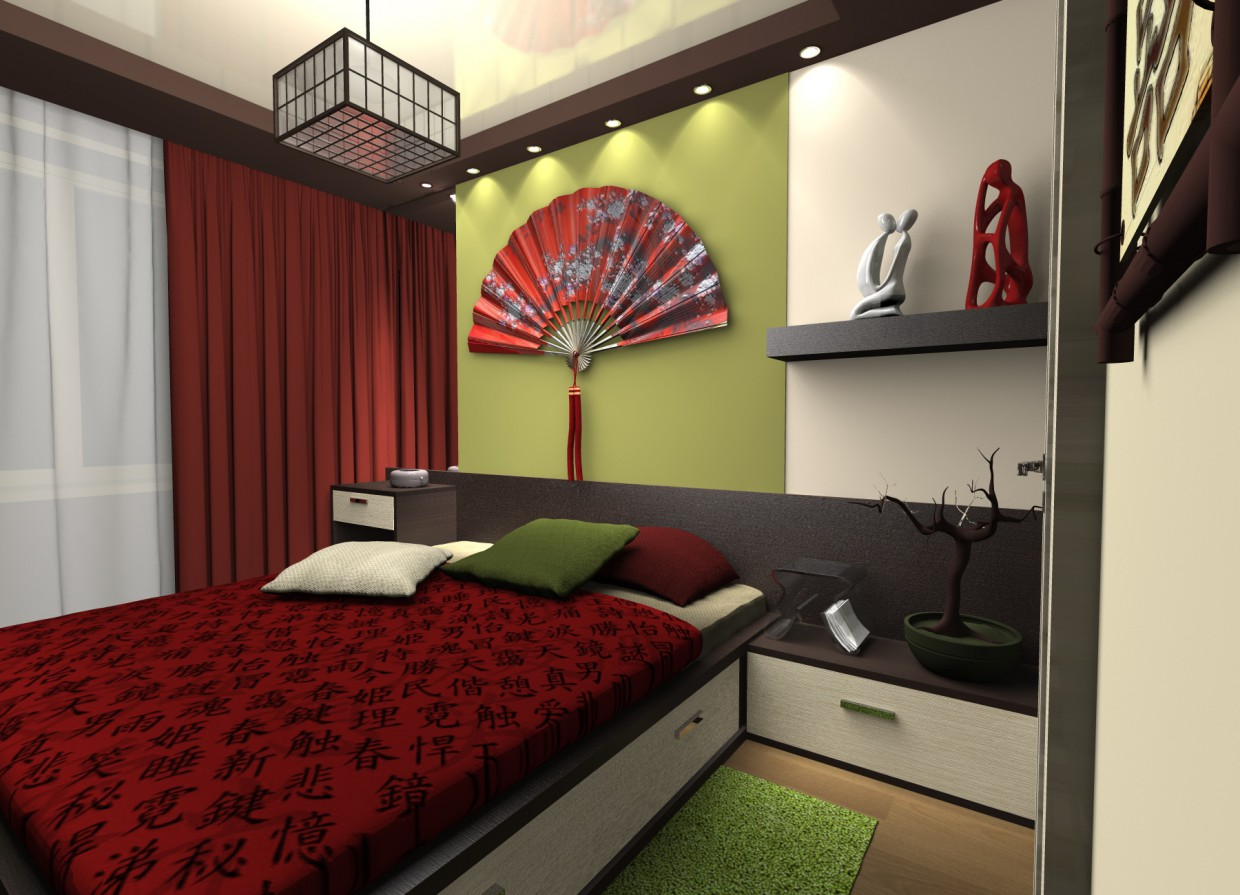 Bedroom in the Japanese style in Other thing Other image
