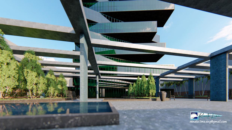परियोजना भवन बाहरी SketchUp Other में प्रस्तुत छवि