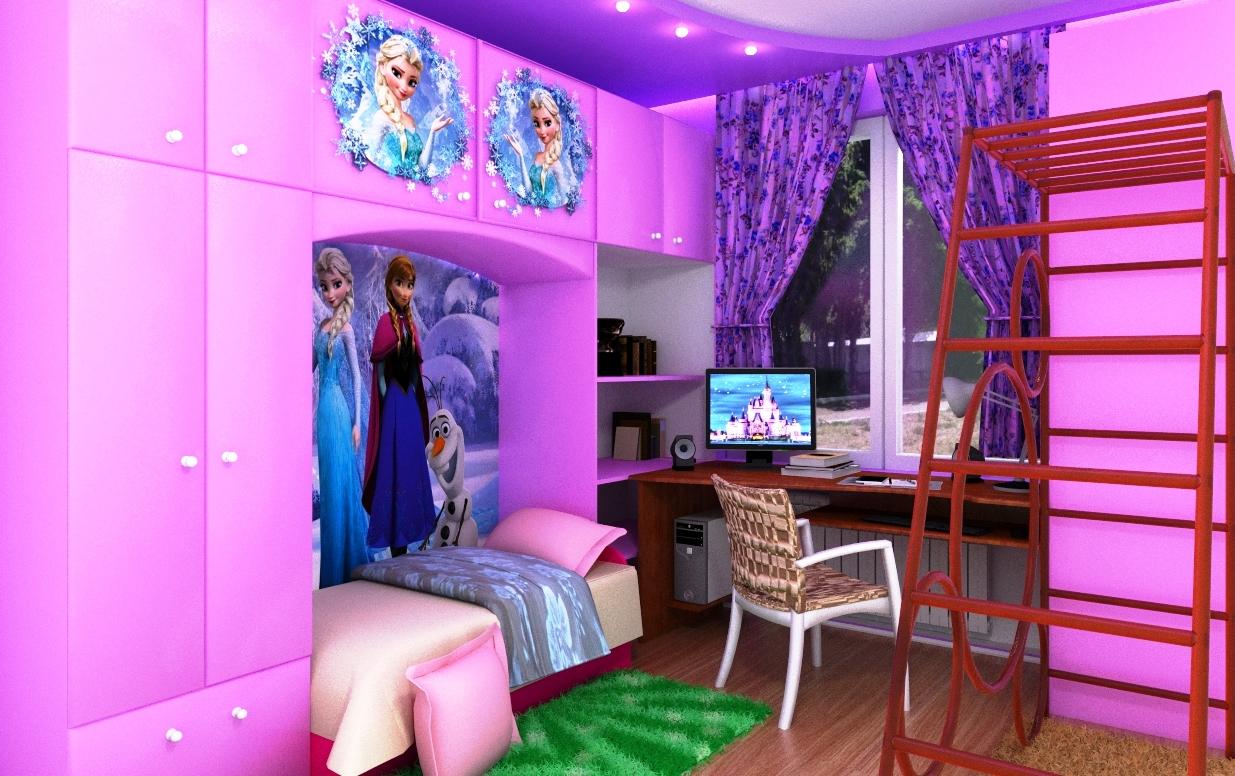 nursery in SketchUp vray 3.0 image