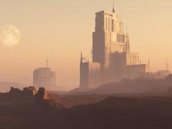 Ambiente Sci Fi.