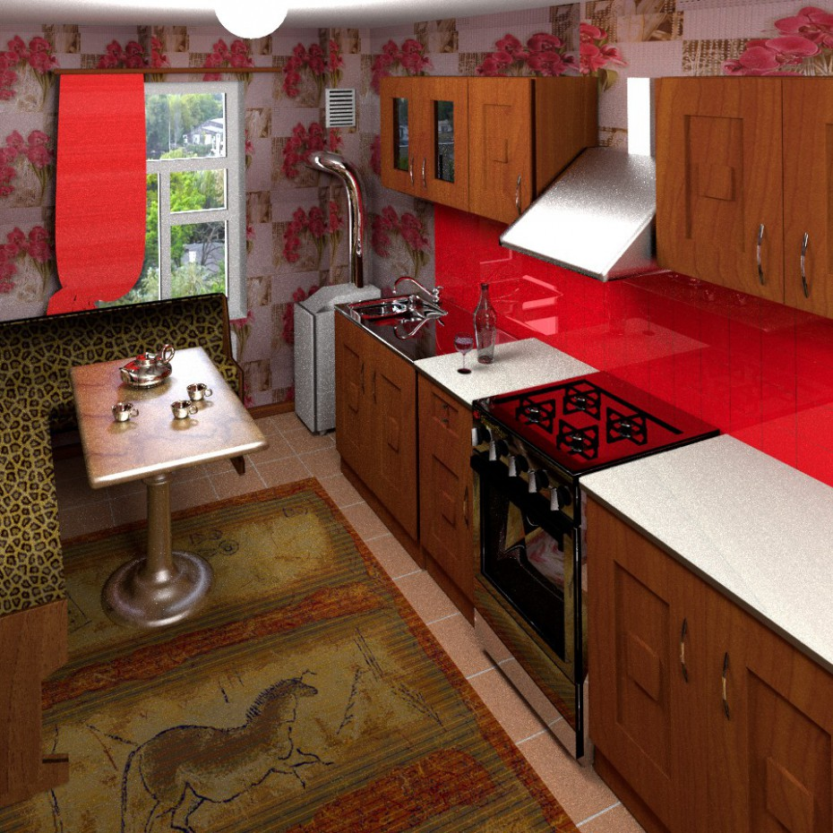 Home Kitchen in Blender Other image