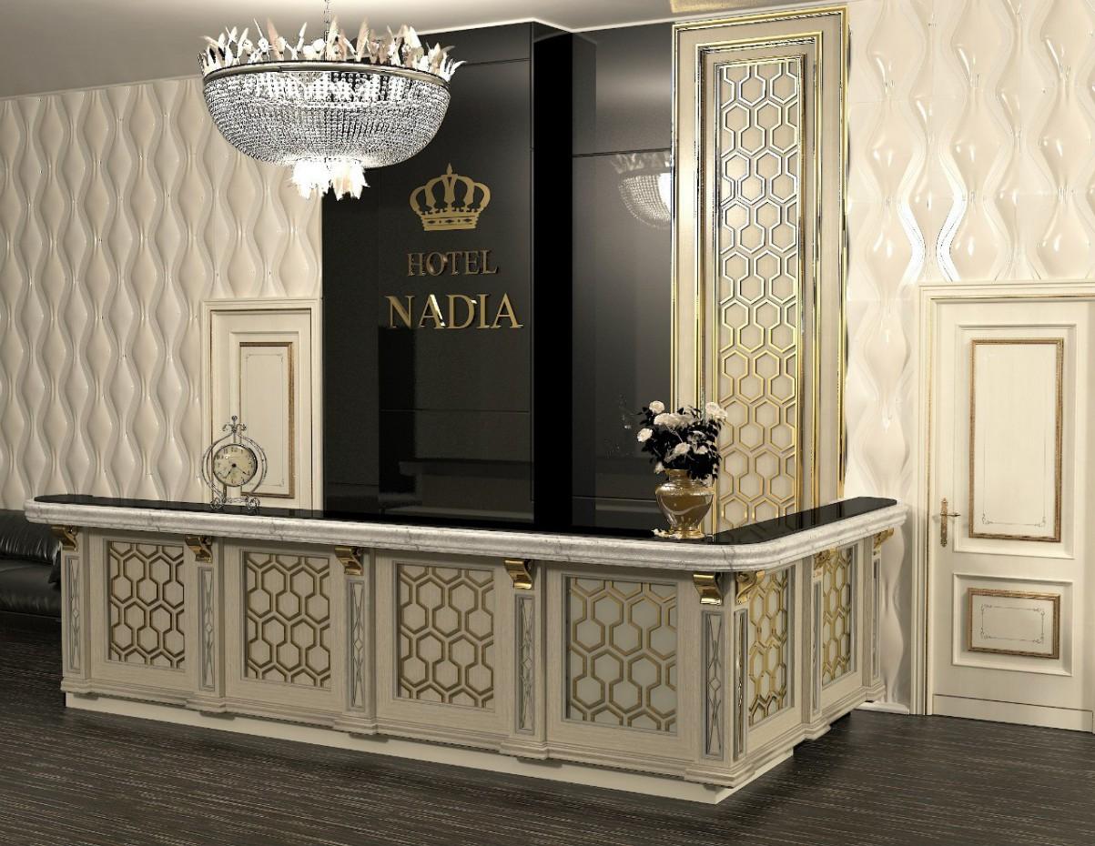 imagen de Proyecto de Hotel en 3d max vray