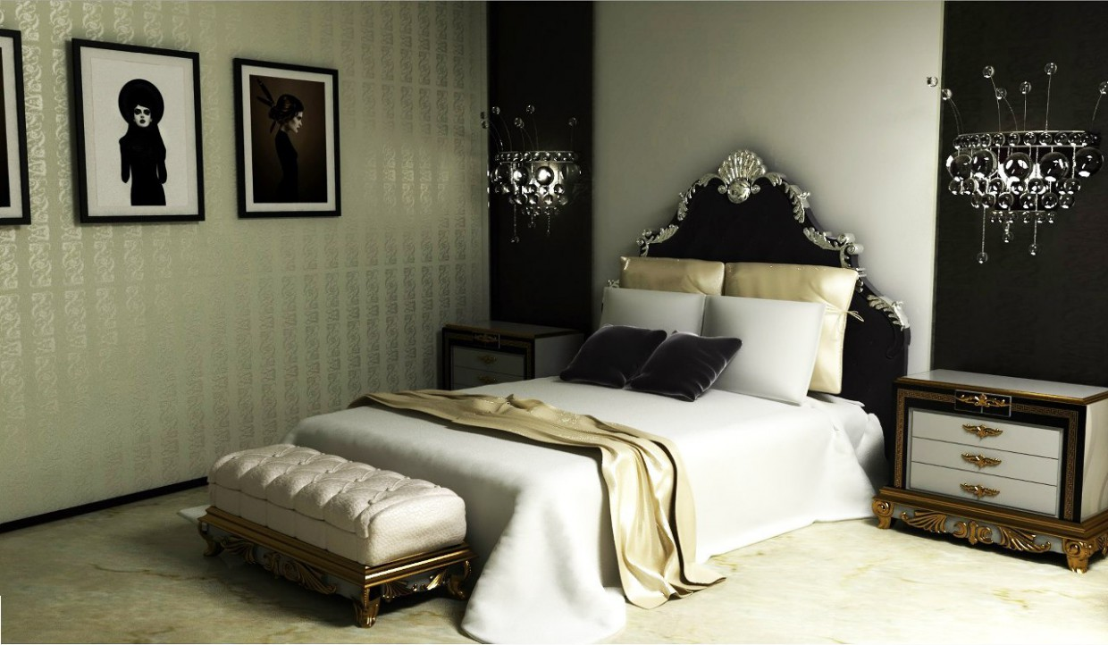 Hotel project in 3d max vray image
