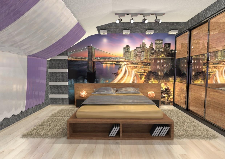 3d визуализация проекта Спальня подростка в Другое, рендер Other от Charisma313