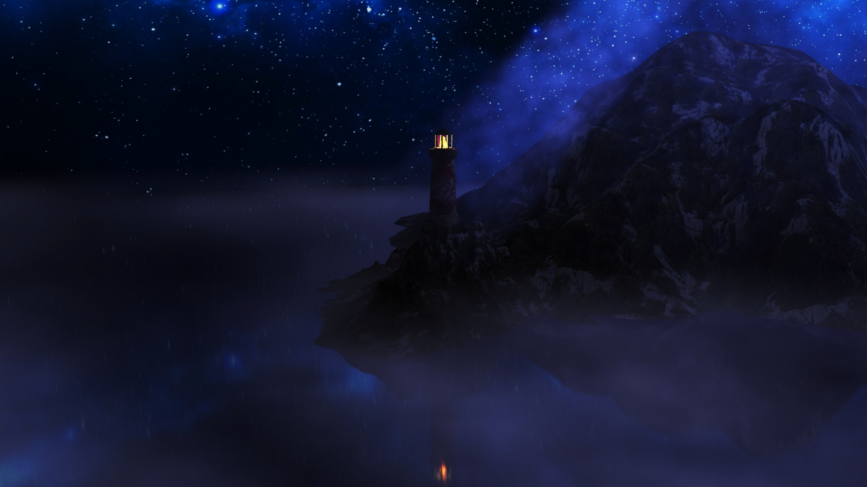lighthouse in 3d max vray 3.0 image