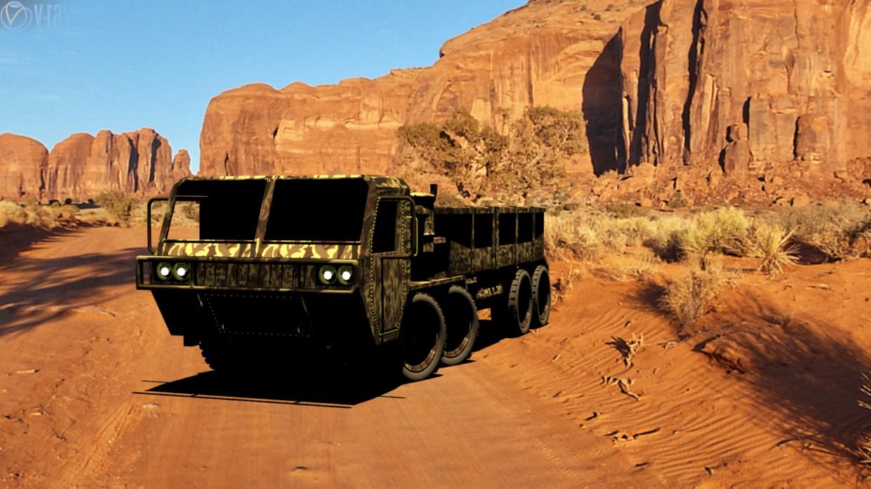 imagen de Camión M-977 en 3d max vray