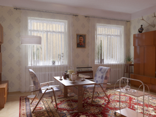 Intérieur soviétique