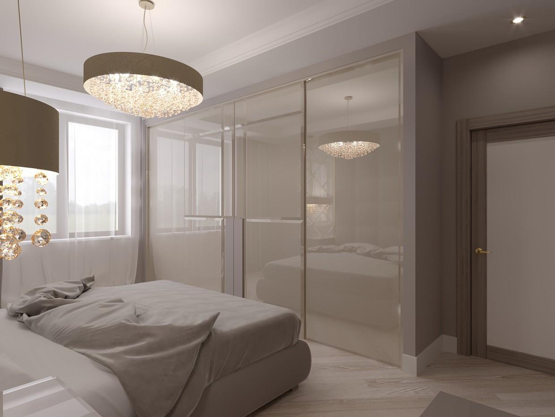 3d візуалізація проекту Спальня в 3d max, рендер corona render від Роман Касимов