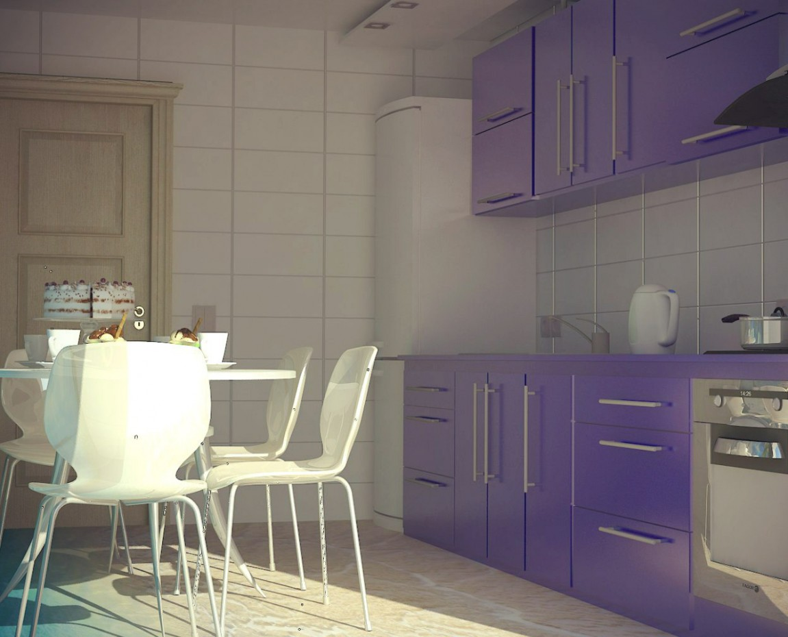 Apartment in Kyiv in 3d max vray image