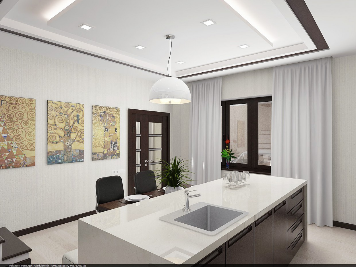 Kitchen studio in Other thing vray image