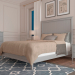 Bed in the Interior in 3d max vray 3.0 image