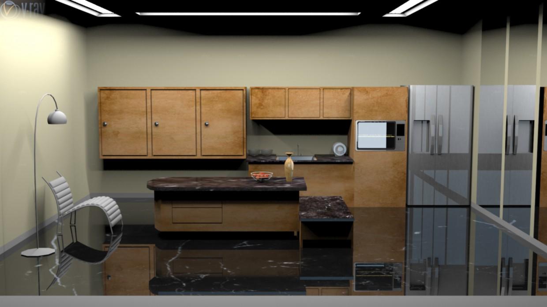 3d візуалізація проекту Кухня в 3d max, рендер vray від Rakesh