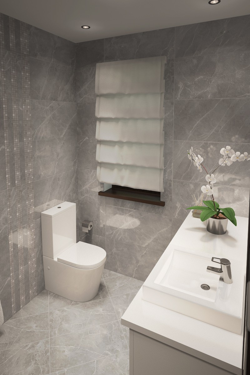 Lavatory in 3d max vray 3.0 image
