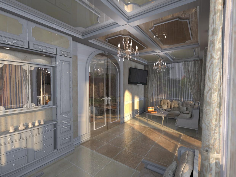 imagen de Interior del summerhouse en 3d max Other