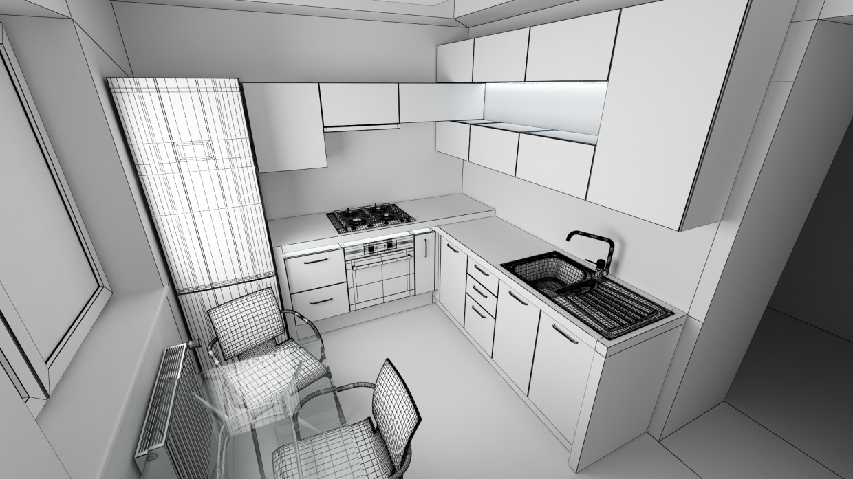 My works in 3d max vray image