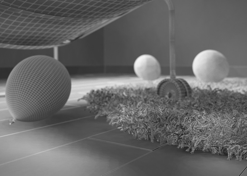 Realistic carpet  in  3d max   vray  image