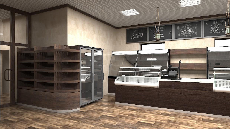 imagen de Tienda en 3d max vray