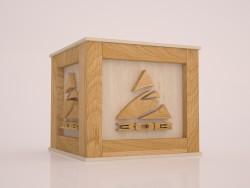 Boîte avec logo