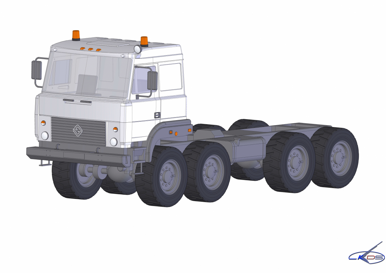 Ural 5323 in SolidWorks Other image