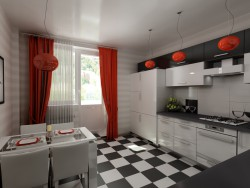 Kitchen 12 sqr m