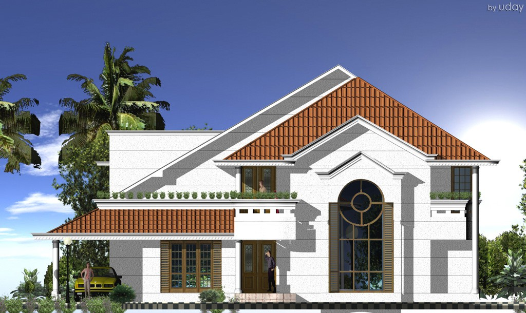 Residence -by uday in 3d max vray image