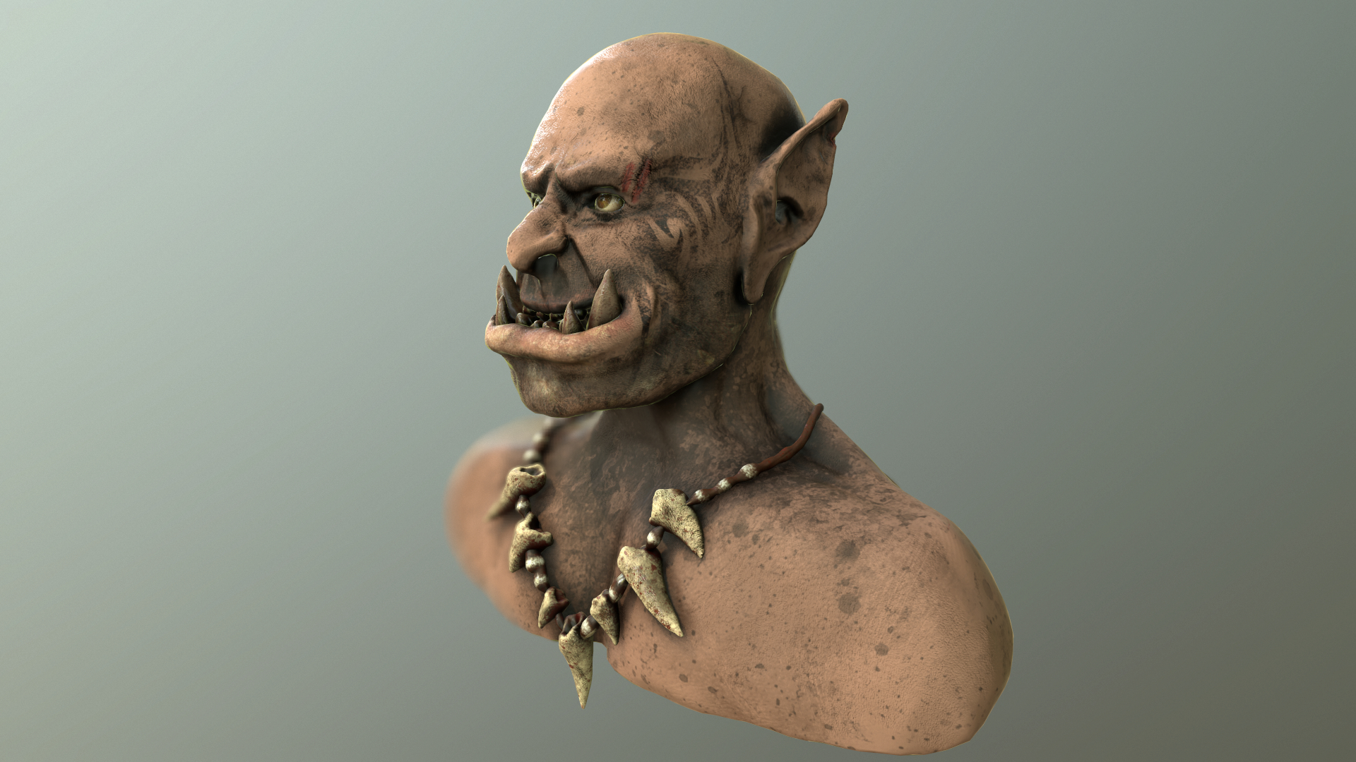 Orc in ZBrush Other image