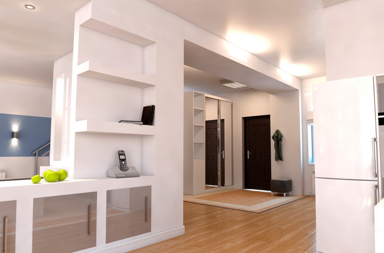 House - studio  in  3d max   vray  image