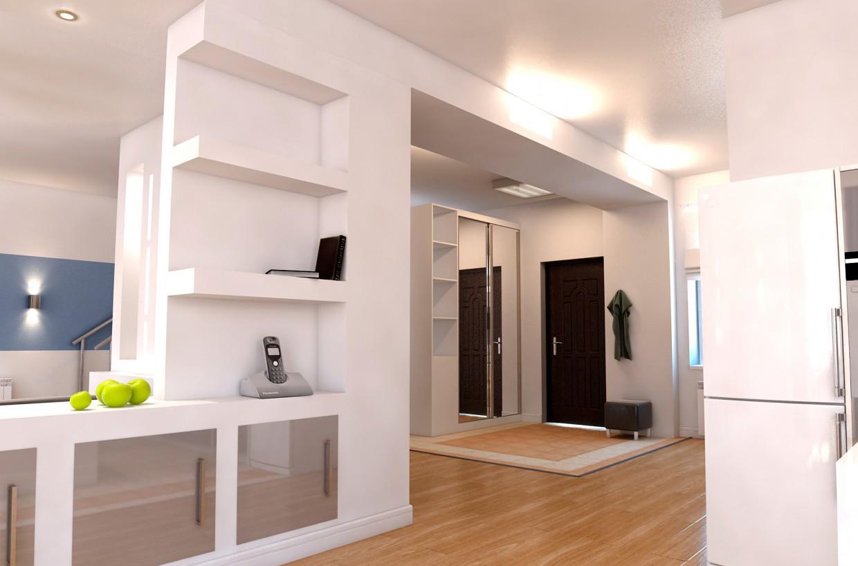 Дом - студия в 3d max vray изображение