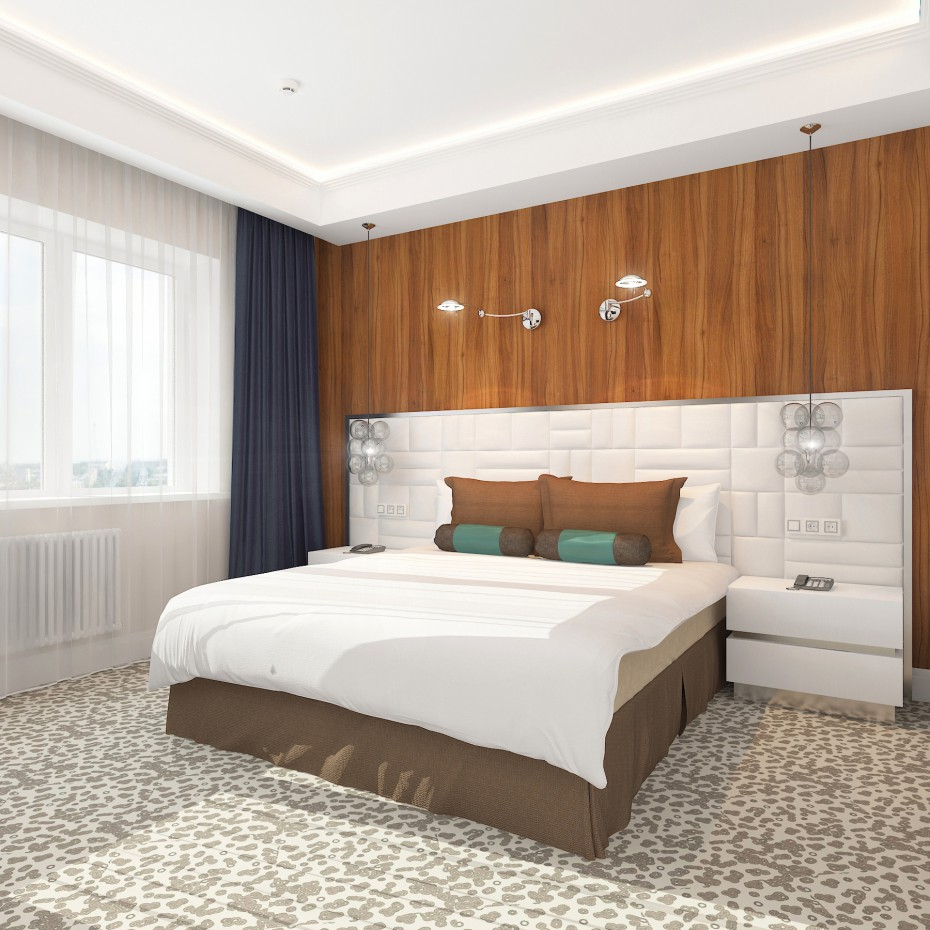 imagen de Apartamento de lujo en hotel en 3d max vray
