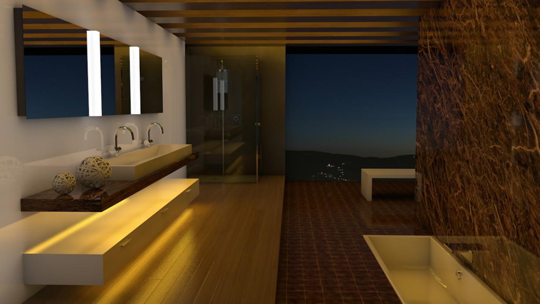 Bathroom in Cinema 4d Other image