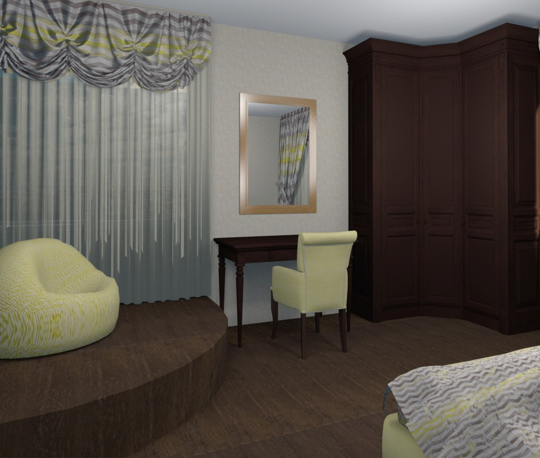 Bedroom Style Eclectic Design And Visualization