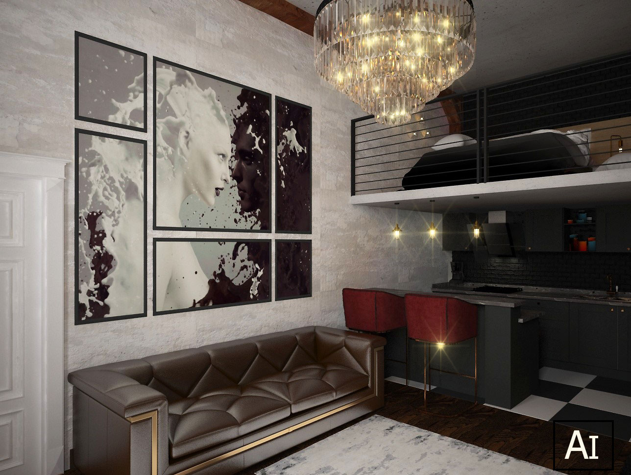 My loft in 3d max vray 2.5 image