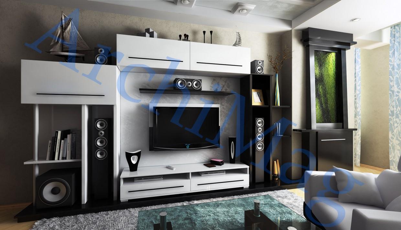 Дизайн интерьера в 3d max vray изображение