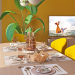 """kitchen-living room """"On its own wave"""""""
