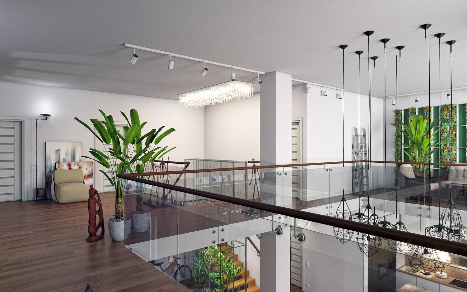 """imagen de Complejo residencial """"Nobel"""". Penthouse. en 3d max corona render"""