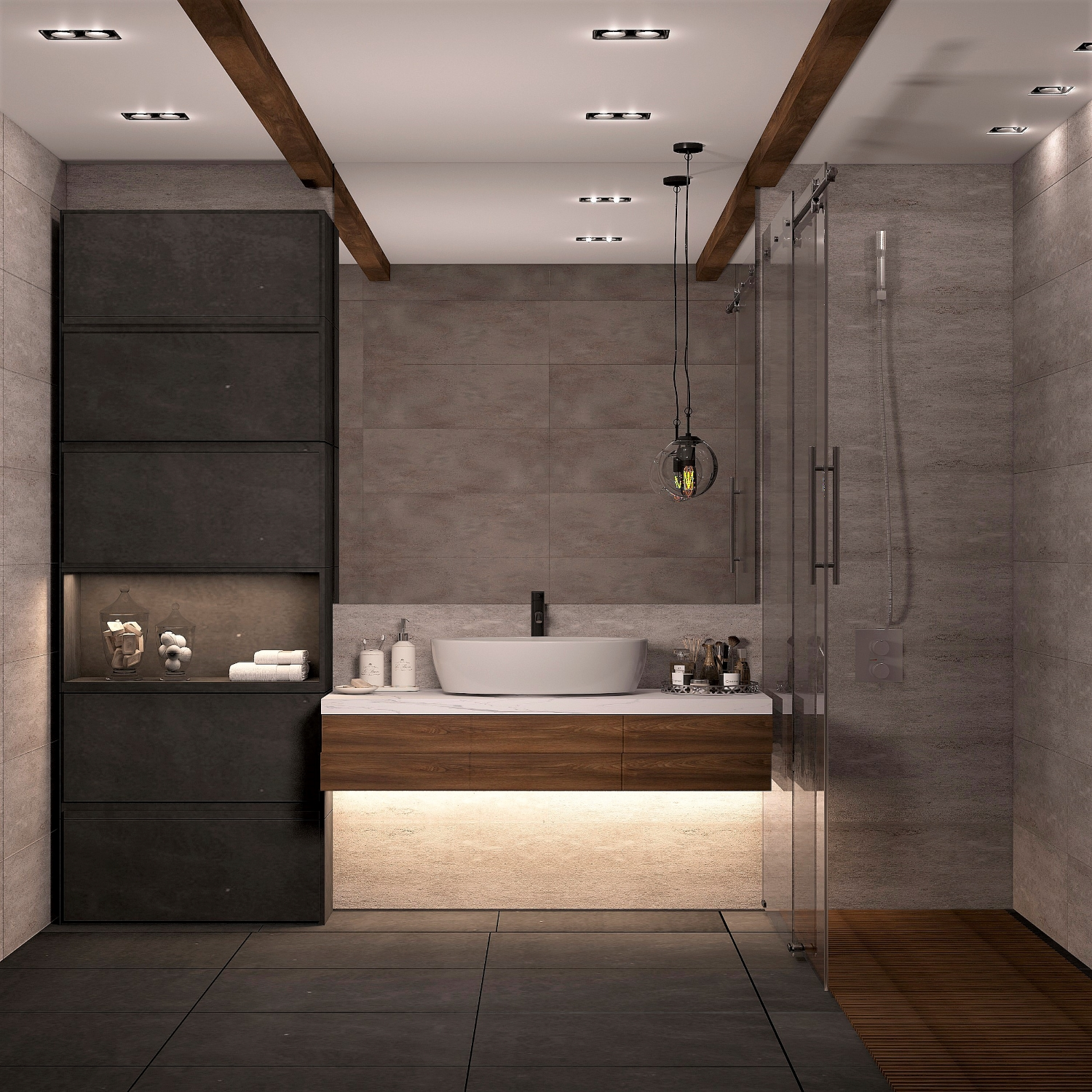 apartment on the Khodynsky field. in 3d max vray 3.0 image