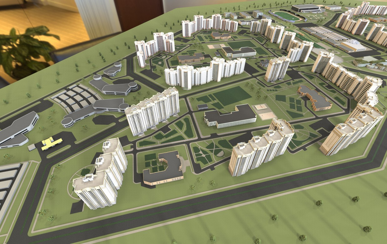 Layout visualization of residential area in ArchiCAD Other image