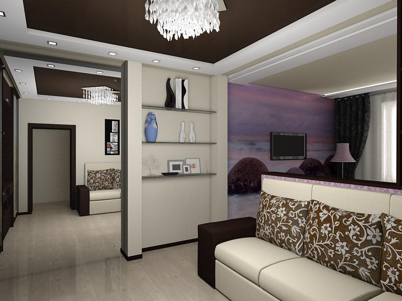 imagen de interior en 3d max vray