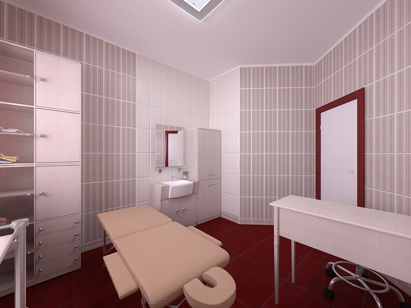 Beauty salon in 3d max vray 3.0 image