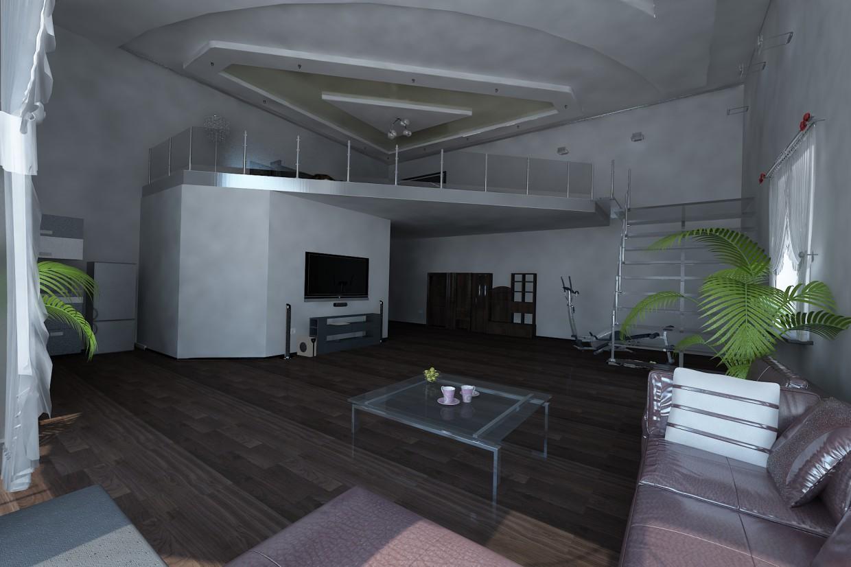 imagen de Apartamento de 2 plantas en 3d max vray