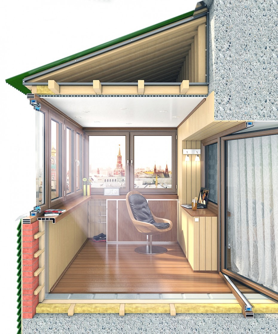 Остекление балконов и лоджий. получите подарок! - строительс.