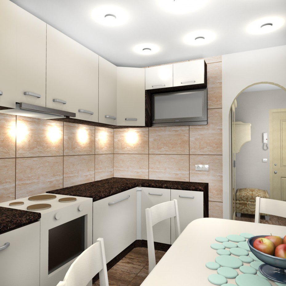 The kitchen in bright colors in Other thing Other image