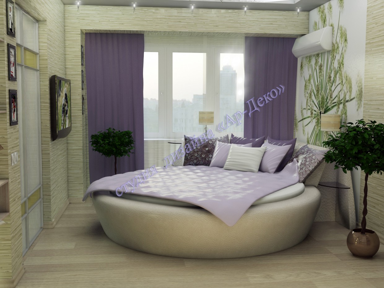 Bedroom in 3d max vray image