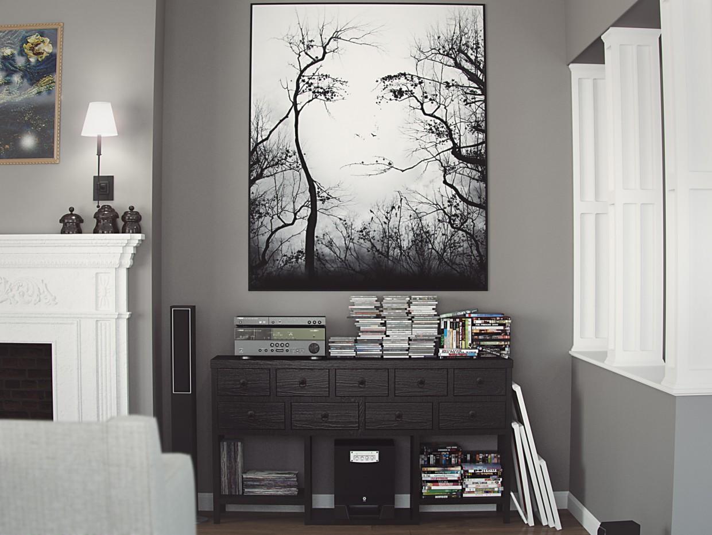 imagen de Viviendo al estilo americano en 3d max vray