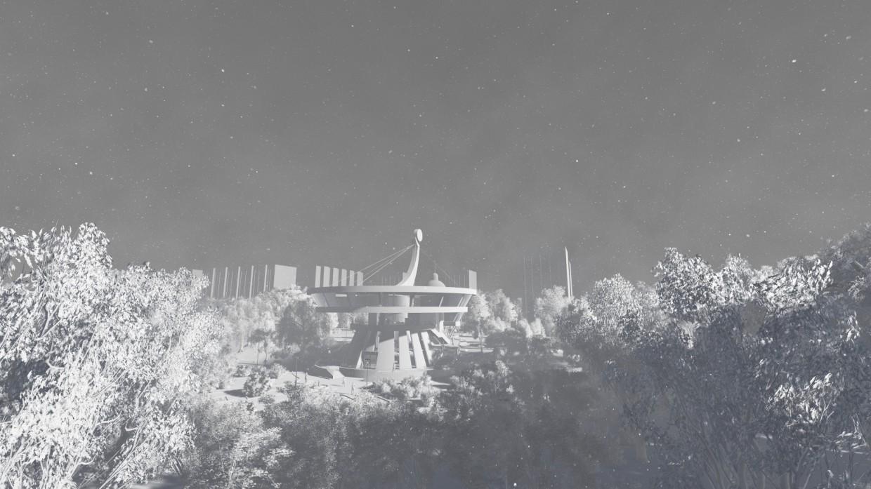 3d візуалізація проекту Музей Национального відродження (по проспекту злуки м. Тернопіль) в 3d max, рендер vray від Сергій dragon