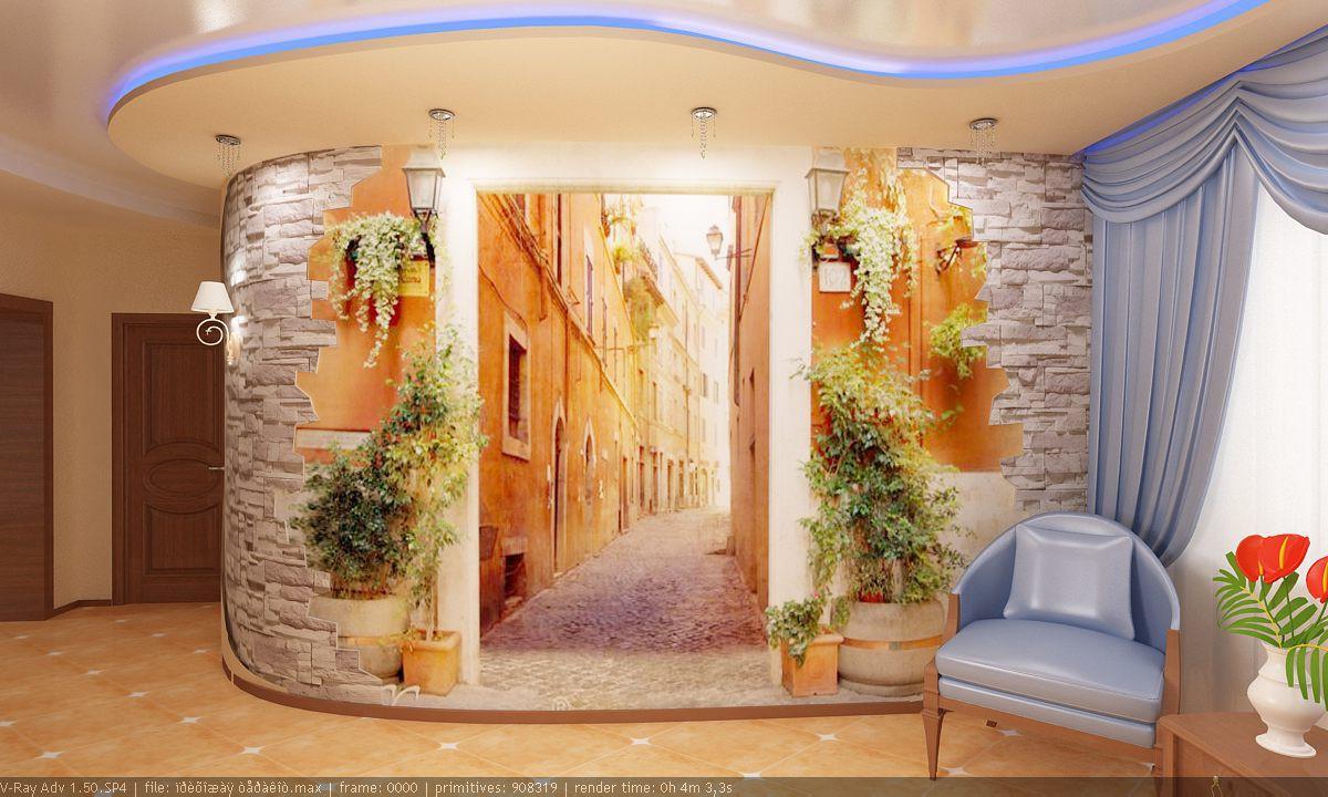 imagen de Mueble de entrada en 3d max vray