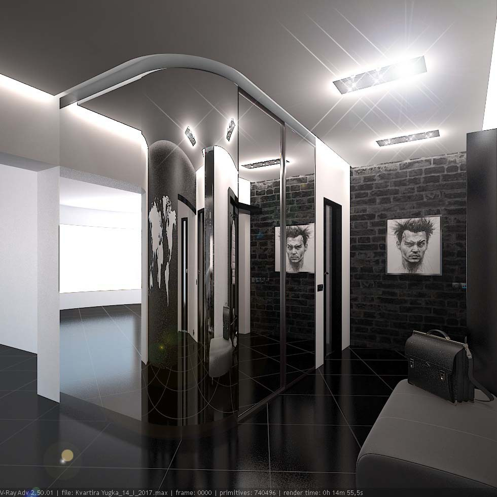 Appartaments in 3d max vray 2.5 image